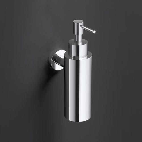 distributore di sapone contract / da parete / in metallo / manuale