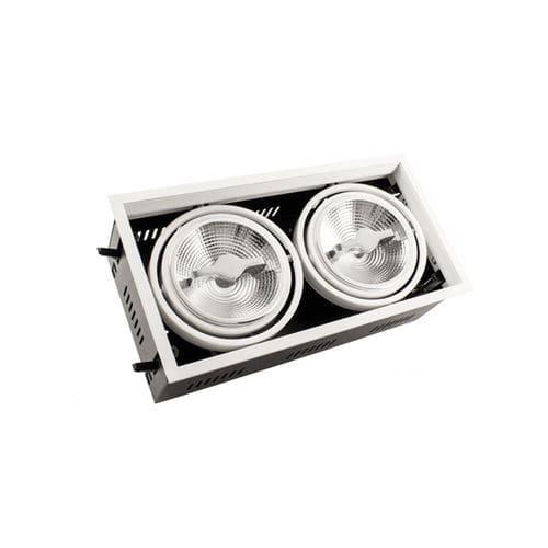 faretto da incasso / da interno / LED / rettangolare