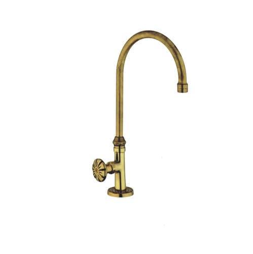 rubinetto per lavabo / per lavamani / da appoggio / in ottone