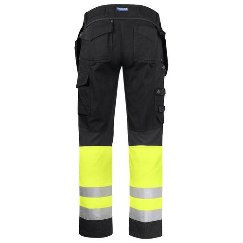 pantalone da lavoro / alta visibilità / in cotone / in Kevlar®