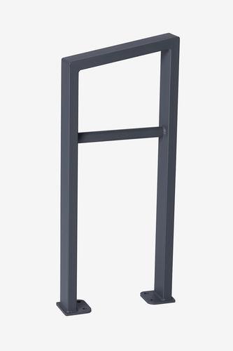 rastrelliera per biciclette in acciaio con rivestimento a polvere - Punto Design