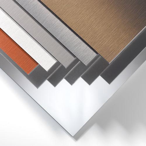 pannello in composito di rivestimento / in metallo / per rivestimento di facciata