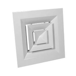 diffusore d'aria da soffitto / sospeso / quadrato / tondo