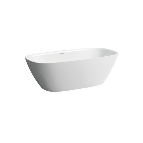vasca da bagno ad isola / ovale / in Solid Surface