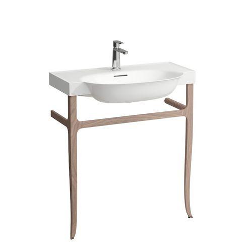 supporto per lavabo in legno