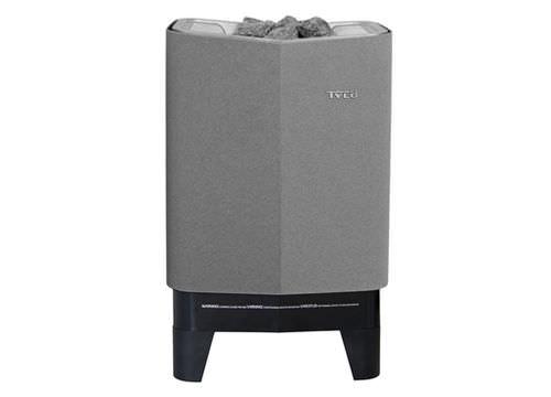 stufa elettrica / in metallo / moderna / per sauna