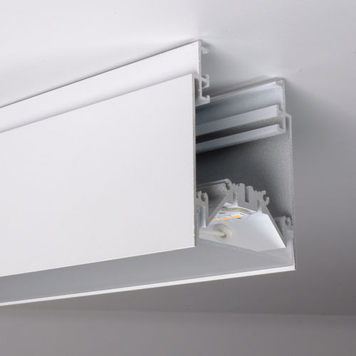 profilo luminoso sporgente / sospeso / a soffitto / LED