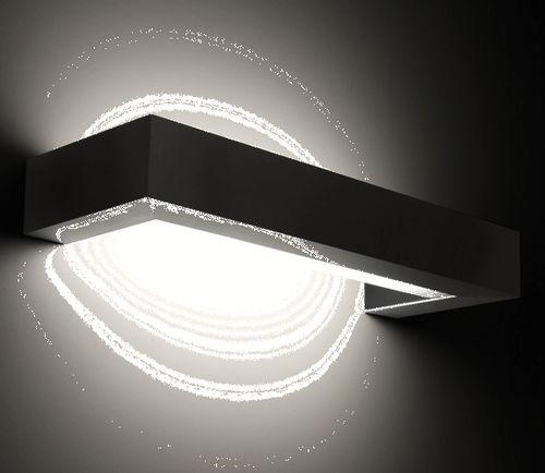 applique moderna / da esterno / in acciaio inossidabile lucido / in gomma siliconica