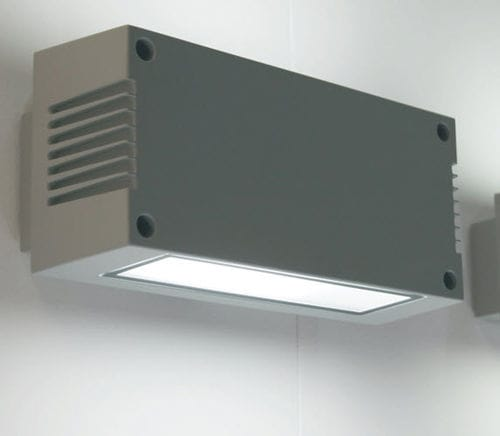 applique moderna / da esterno / in ghisa di alluminio / LED