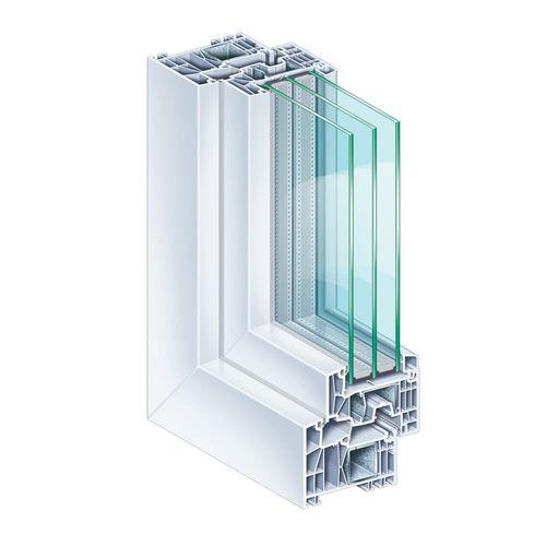 profilato per finestra in PVC