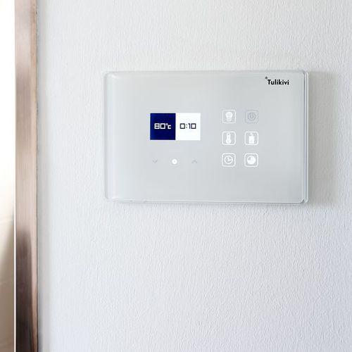 unità di controllo per sauna