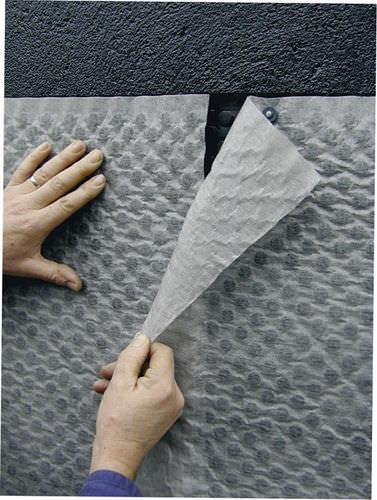 membrana drenante escrescenza