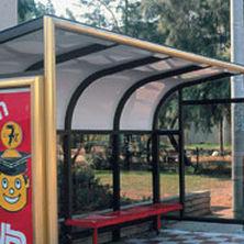 pannello in policarbonato piano / per tetto / per tettoia / traslucido