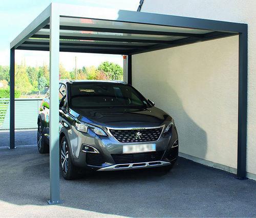 tettoia per posto-auto in alluminio termolaccato
