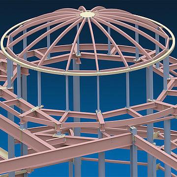 software di progettazione / di calcolo delle strutture / BIM Building Information Modeling / per struttura in acciaio