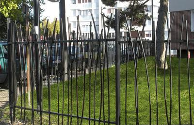 recinzione per parco giochi