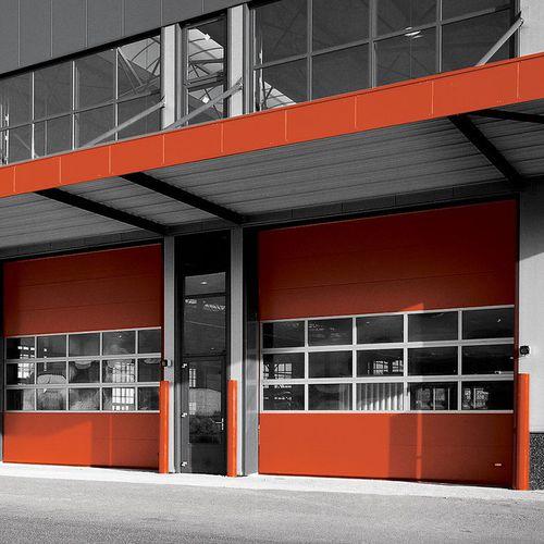 porta industriale sezionale