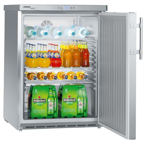 frigorifero sottopiano / in acciaio inox