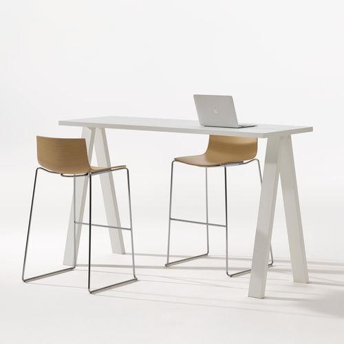 tavolo alto moderno - Arper
