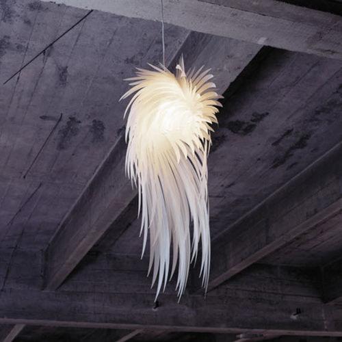 lampada a sospensione / design originale / in poliestere / da interno