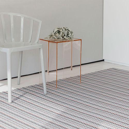 tappeto moderno / a quadretti / in fibre sintetiche / rettangolare
