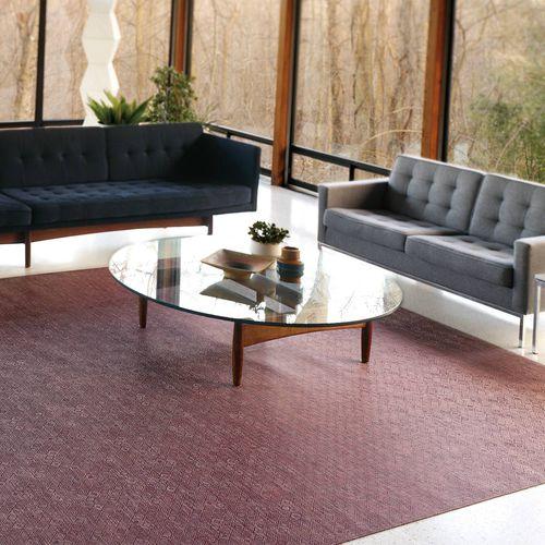 tappeto moderno / a motivi / in fibre sintetiche / rettangolare