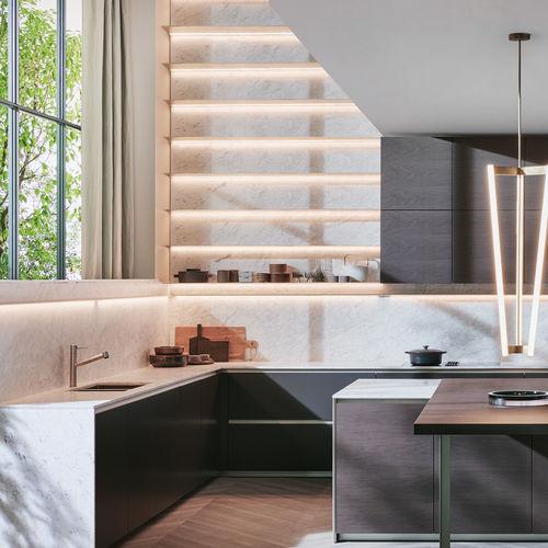 mensola / moderno / in alluminio estruso / per cucina