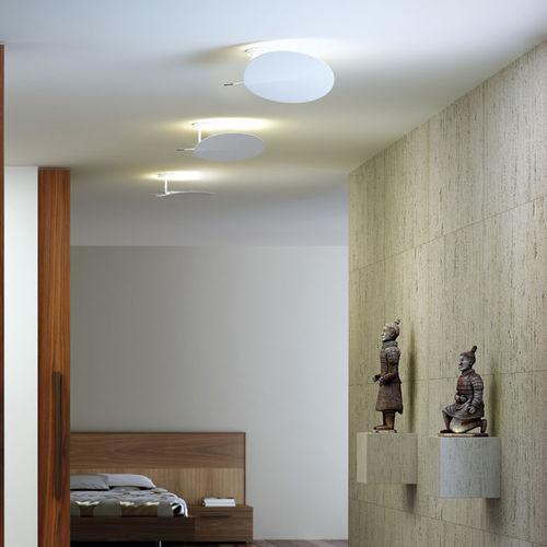 plafoniera moderna / tonda / in metallo / LED