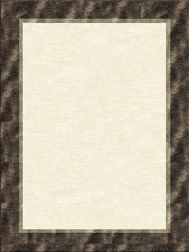 tappeto moderno / a tinta unita / in lana / in seta
