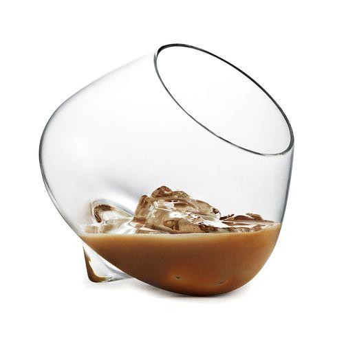 bicchiere da brindisi / in vetro / per uso domestico / contract