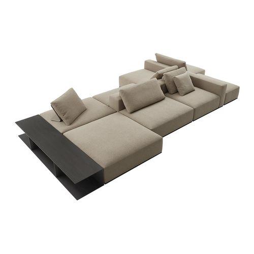 divano modulare / moderno / in tessuto / per hotel