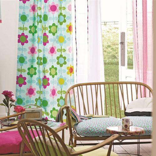 tessuto da tappezzeria / per tende / da parete / a fiori