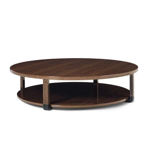 tavolino basso moderno / in quercia / impiallacciato in legno / in ebano