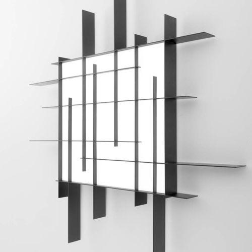 applique moderna / in acciaio / in alluminio verniciato / in PMMA