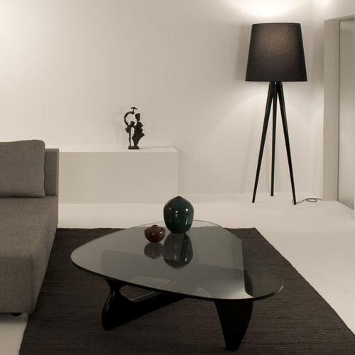 lampada da terra / moderna / in tessuto / tripode
