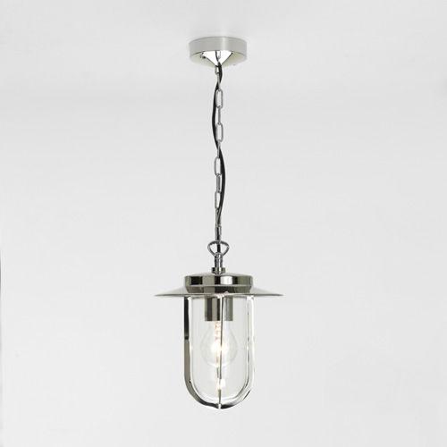 lampada a sospensione / moderna / in metallo / in vetro
