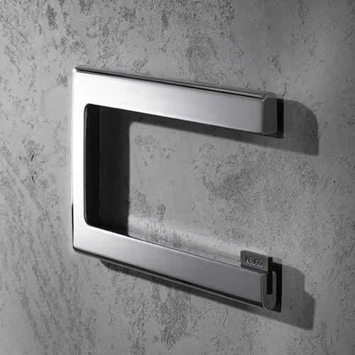 portarotolo da parete / in metallo cromato / per uso residenziale