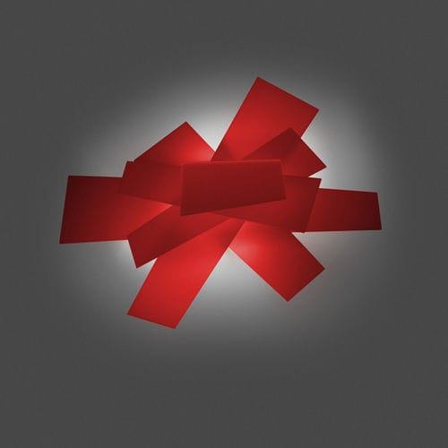 plafoniera design originale / in metallo laccato / in metacrilato / LED