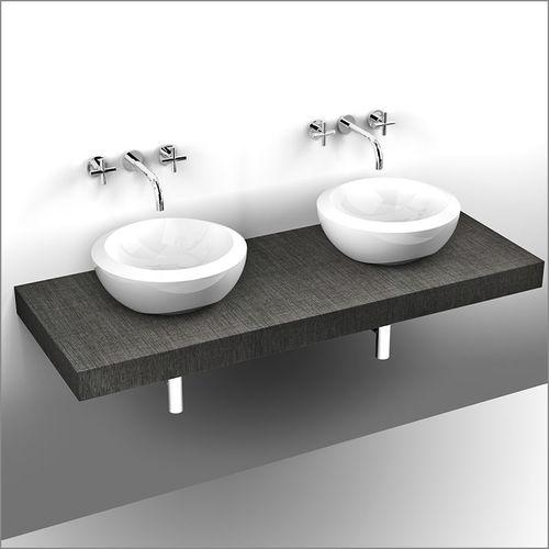 piano lavabo doppio