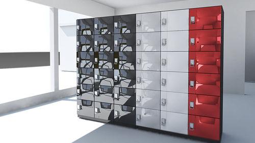 armadietto di deposito a combinazione