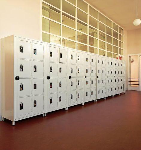 armadietto di deposito in acciaio