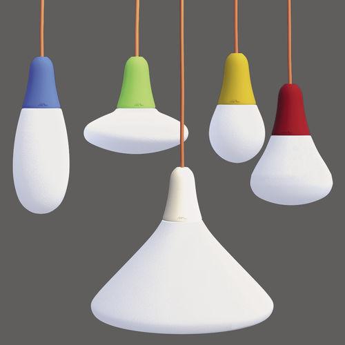 lampada a sospensione / moderna / in polietilene / LED