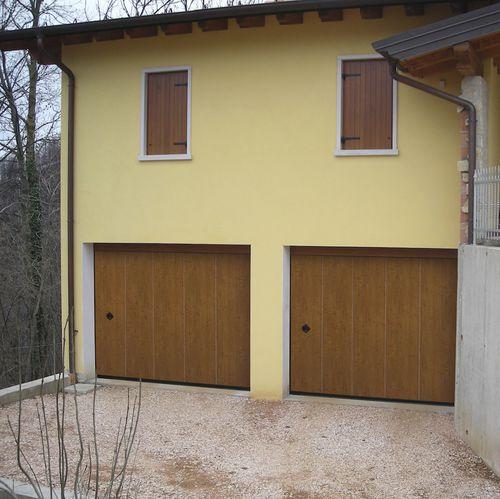 porta sezionale laterale per garage