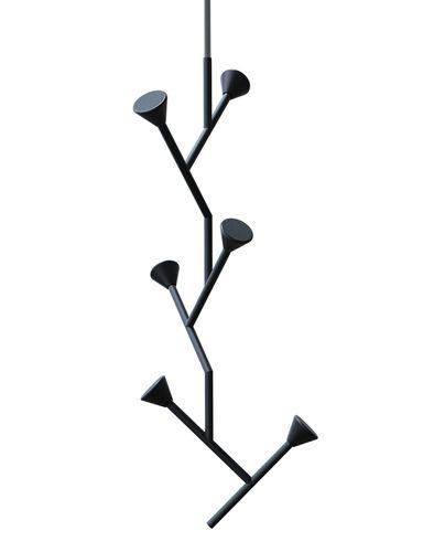 appendiabiti da soffitto / design minimalista / in metallo