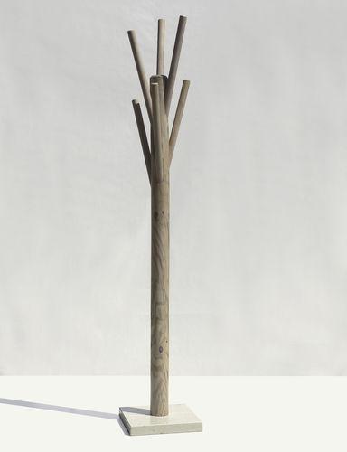 appendiabiti da terra / moderno / in legno