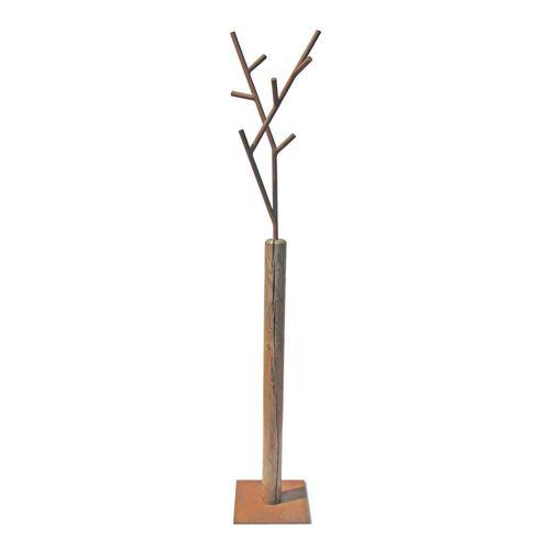 appendiabiti da terra / moderno / in acciaio verniciato / in legno massiccio