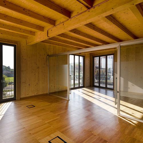 pannello per pavimento sopraelevato in legno - Nesite