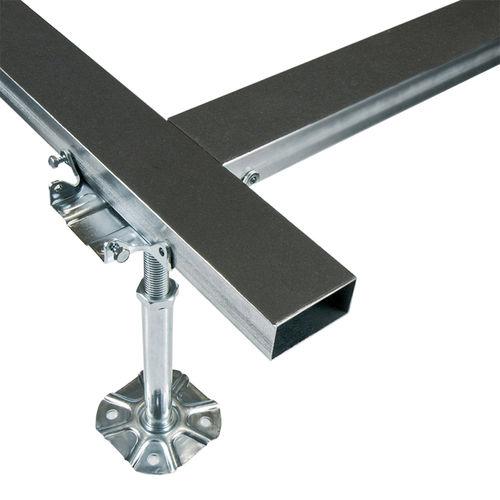 struttura per pavimento sopraelevato in metallo / da interno