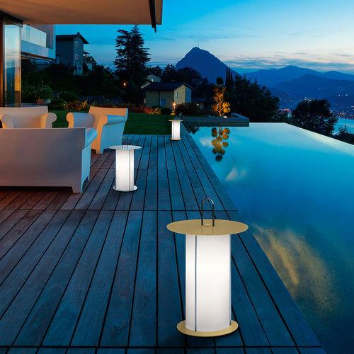 lampada da pavimento / moderna / in metallo / in poliestere