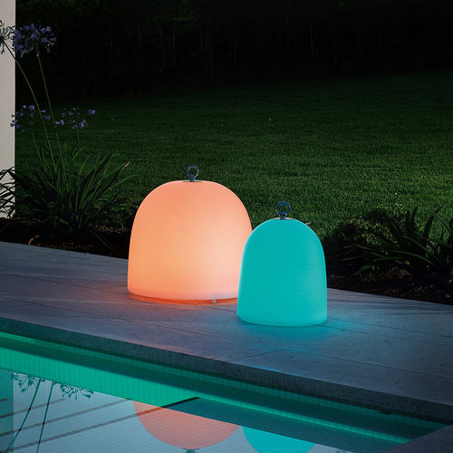 lampada da pavimento / moderna / in polietilene / ricaricabile